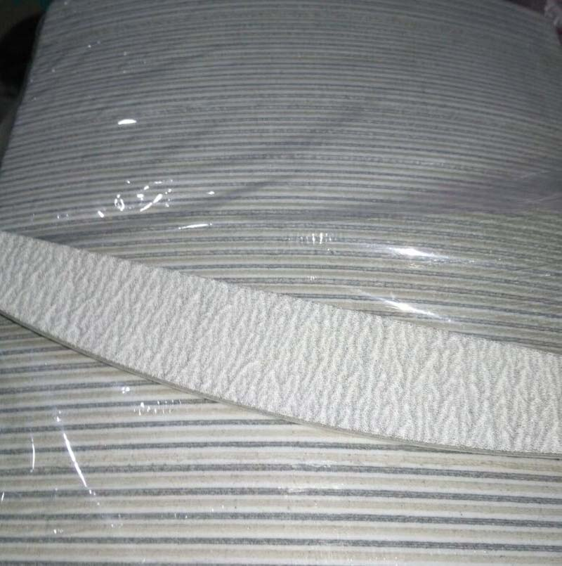 "(100 Stücke) Professionelle Acryl Nagelfeile 150/150 Grit Zebra Sanding Files 5 ""neue Foren Nagel Datei"