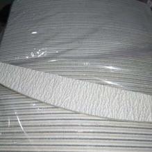 "(100pcs) מקצועי אקריליק פצירה 150 / 150 חצץ זברה מלטש קבצי 5 ""חדש לוח פצירה"