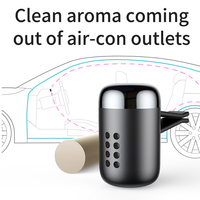 Car Air Freshener Aromatherapy Auto Air Outlet Perfume Long-lasting Car Fragrancner Fragrance Clip Diffuser solid perfume 5