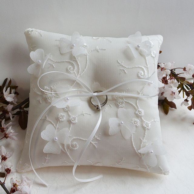 Aliexpress buy new top quality wedding ring pillow