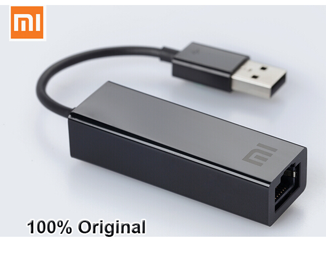 Original Xiaomi USB to RJ45 External Ethernet Card lan