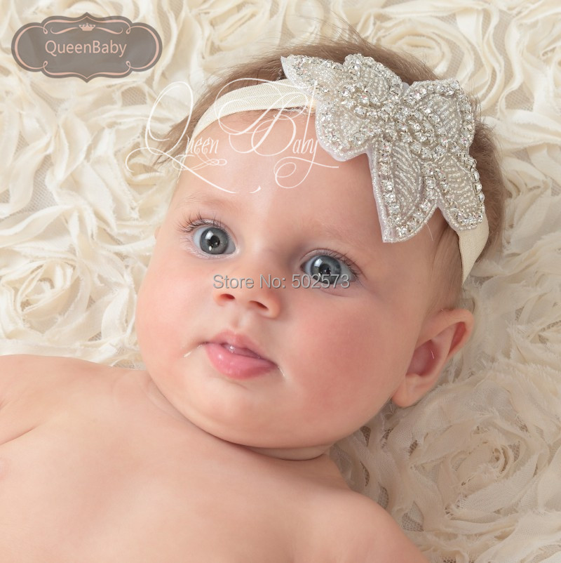 10pcs lot Baby Girl Bling Crystal Rhinestone Headbands Newborn Christening  Headband Baby Headbands-in Hair Accessories from Mother   Kids on  Aliexpress.com ... 93f14622752