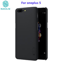 NILLKIN Case For Oneplus 5 Oneplus5 Case Cover 5 5 Inch Super Frosted Shield Hard Back