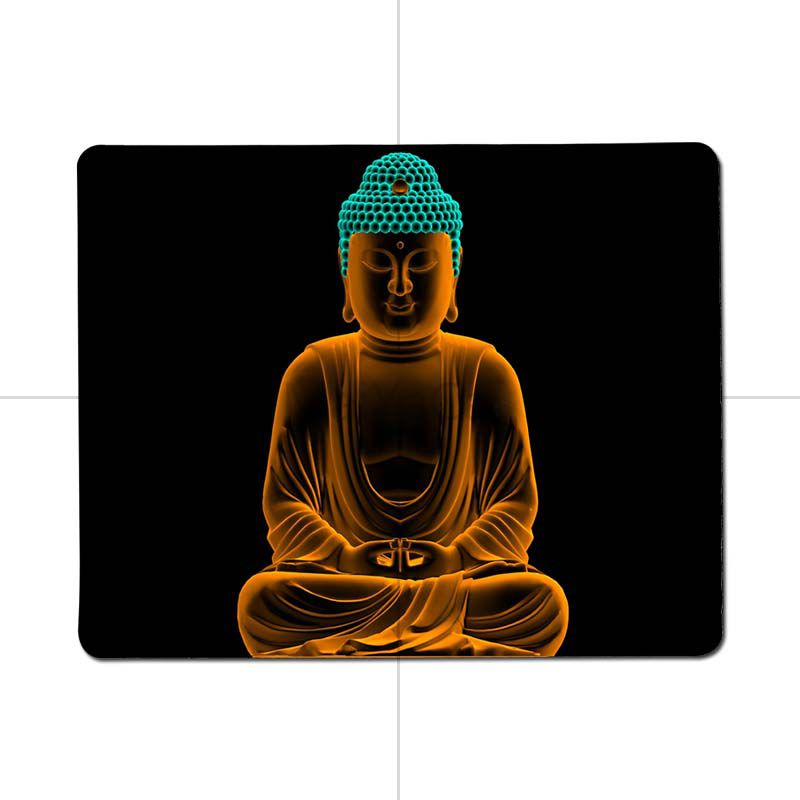 MaiYaCa Top Quality Buddha budha Comfort small Mouse Mat Gaming Mouse pad Size for 25X29cm 18x22cm Gaming Mousepads