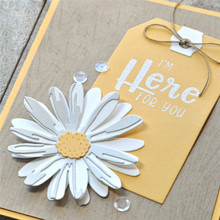 YaMinSanNiO Daisy Flower Metal Cutting Dies New 2019 Bloom Scrapbooking for Card Making Embossing Craft Die Cut