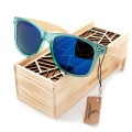 BOBO BIRD Luxury Polarized for Men and Women Polarized Bamboo Wood Holder Sun Glasses With Retail Wood Box as Gifts Items 2017