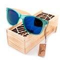 BOBO PÁJARO Polarizadas para Hombres y Mujeres Polarizadas Las gafas de Madera De Bambú de Lujo titular de Gafas de Sol Con la Caja De Madera como Artículos de Regalos Al Por Menor 2017