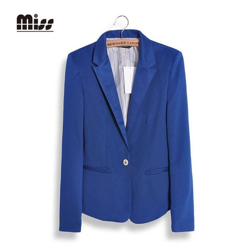 c9fdc2a40566 MISS XXL 2015 Pink Blazer Women Office Suits Pocket Coat Autumn ...