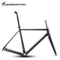 2018 Light Only 950g Road Frame Full Carbon Fiber Road Bike 60cm Frame Bicycle Frameset Packaging