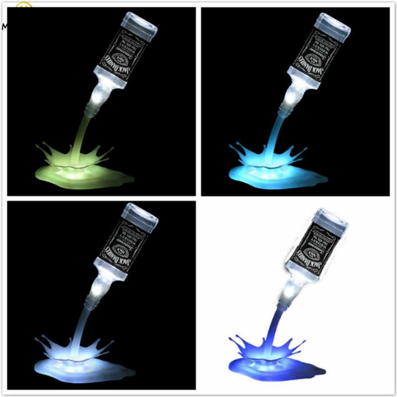 Новый 3D ночной Светильник для вина, новый креативный ночной Светильник для бара, лампа для ресторана, акриловая Ночная Лунная лампа, светильник, Декор, маленькая лампа