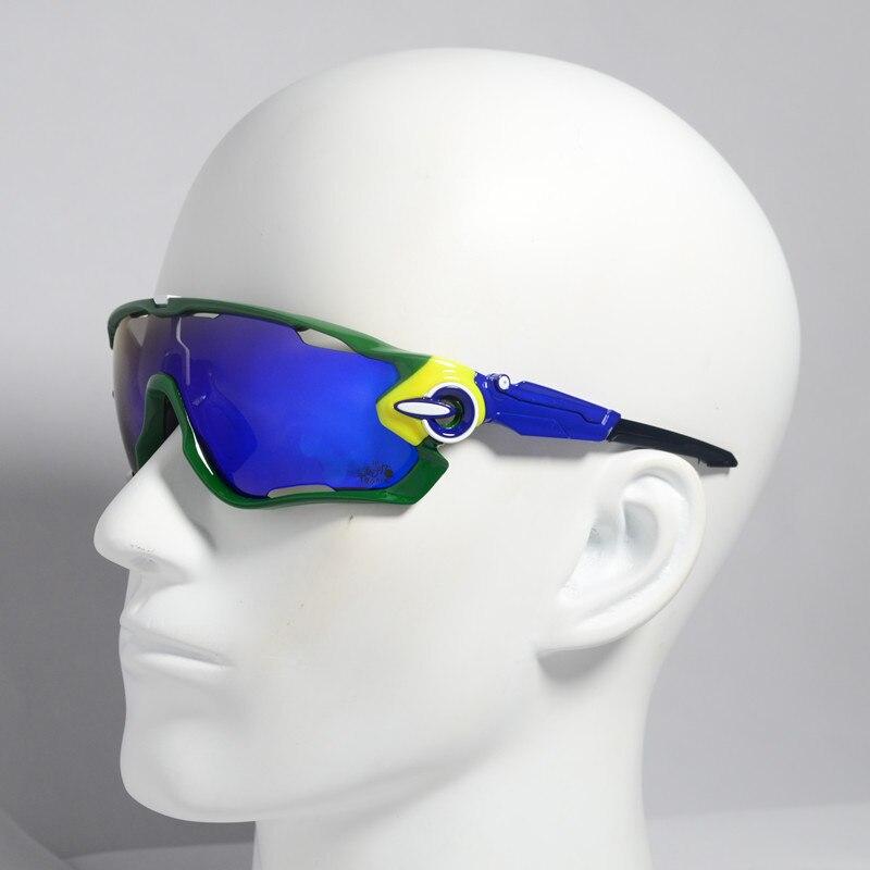 Photochromic polarizado Gafas ciclismo de carretera MTB bicicleta ciclismo deporte Gafas de sol Gafas de ciclismo 4Len