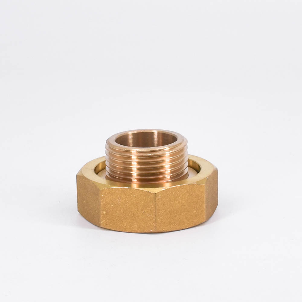 1-1/2 BSP Female To 1 BSP Male Short Scoket Union Brass Union Pipe Fitting Water Gas Oil For Water Meter 2 1 2 male x 1 1 2 female thread reducer bushing m f pipe fitting ss 304 bsp page 2