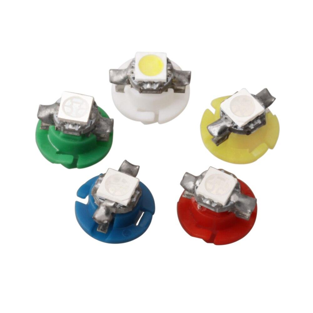 1 piezas T5 B8.5D B8.4D 509 T 5050 SMD LED del coche del tablero de instrumentos Auto luz Interior bombilla coches de luz diodo instrumento