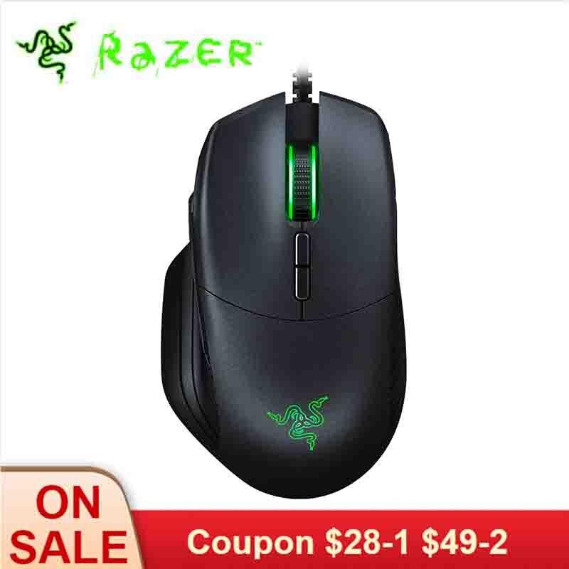 Razer Basilisk souris de jeu filaire 16000 DPI RGB 5G capteur optique amovible DPI embrayage résistance au défilement 8 boutons pour les joueurs
