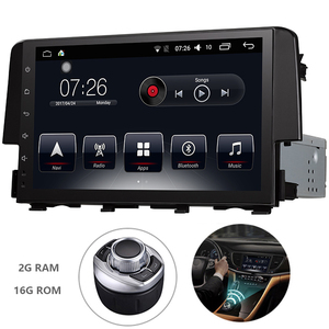 Android 7.1 1 Din Car Multimedia DVD Player For Honda CIVIC 2009-2011 GPS Navigation System With Carplay/Bluetooth/Dual-zone