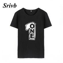 Srivb Una Lettera Coreano Moda Pantaloni A Vita Bassa Donna Top Donne T- Shirt Manica Corta Harajuku Hip Hop Divertente Tumblr Do. 5cffbdbe54f2