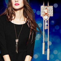 Sweater Chain Long Fall Summer Wear Clothes Deserve Act The Role Key Necklace Female Fashion Joker