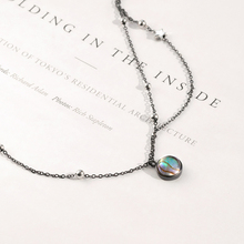 Thaya Star Planet Space Milky Way 100% s925 Silver Pendant Necklace Galaxy Crystal Black Chain for Women Jewelry Christmas Gift