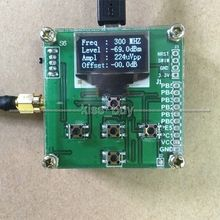 Medidor de potencia RF con pantalla OLED, 1MHZ 8000MHZ, atenuación de potencia RF, medidor digital + Sofware / 10W 30DB atenuador