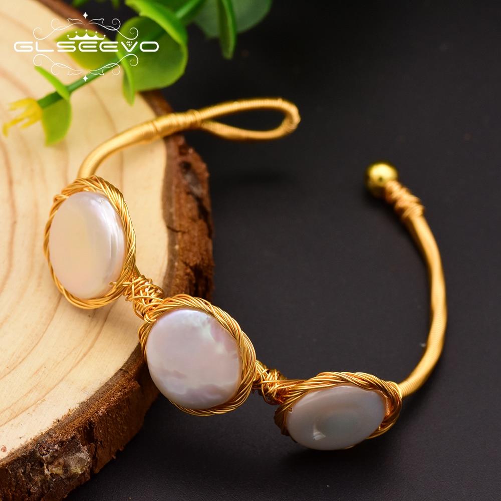 Купить женские жемчужные браслеты барокко glseevo подарочные bileklik