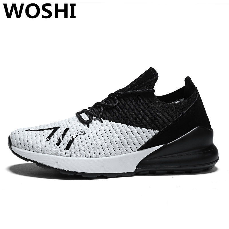 Summer outdoor Men running sports breathable shoes cool athletic breathable sneakers for men super light outdoor walking shoes 2