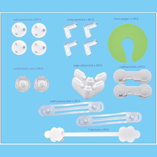 NUEVO conjunto ecológico de productos para bebés de seguridad 18 unids envío gratis