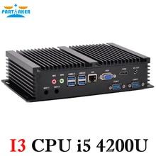 Intel Core i5 4200u мини промышленные компьютеры прочный Настольный ПК компьютер
