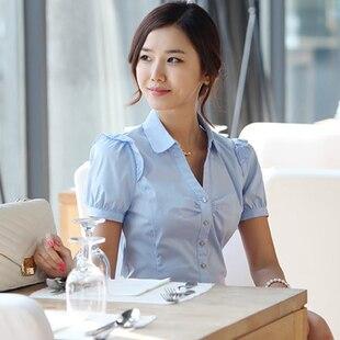 women's formal work wear shirt ladies fashion design women ...