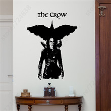 Movie Superhero The Crow Vinyl Wall Sticker Murals Home Creative Art Design Wall Decal Room Special Decor Wall Poster