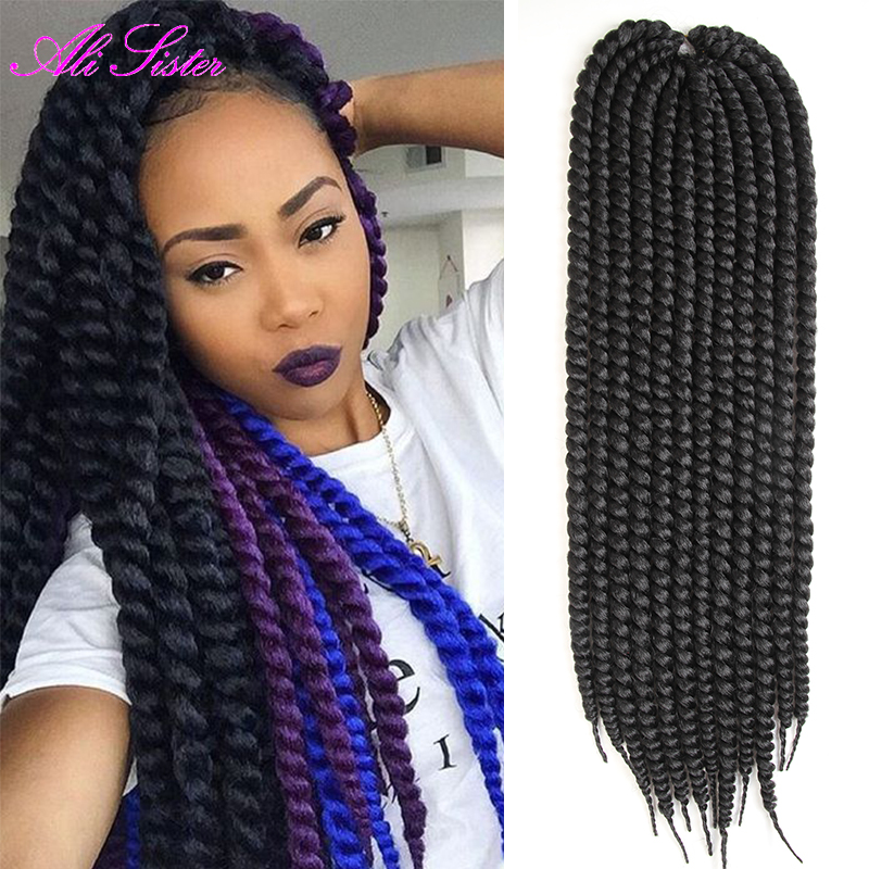 Havana Mambo Twist Hair Extension Crochet Braids Crochet Twist Hair Xpression Braiding Hair ...