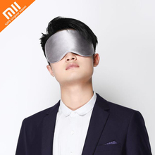 Xiaomi Confortável Lavável Escritório Descanso Dormir Viagem Máscara De Olho Ajuda Respirável Portátil Óculos de Sono Tampa material de seda