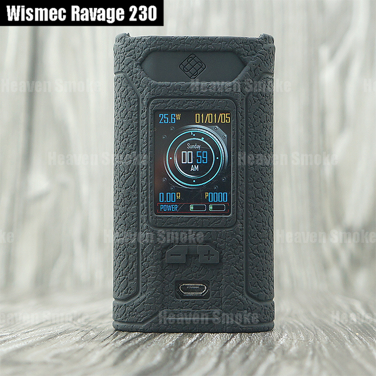 Post 1Pc Silicone Case For Wismec Ravage 230 Protective Cover Sleeve Skin Shield Vs -1750