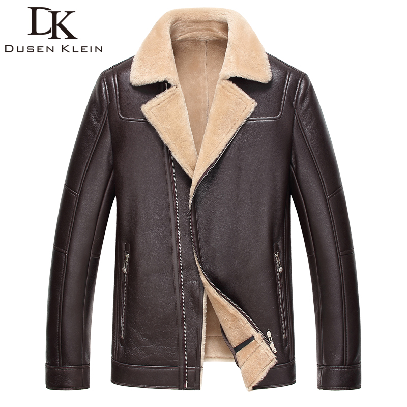 2016 New wool coat sheepskin Short Slim Designer Luxury wool liner font b winter b font