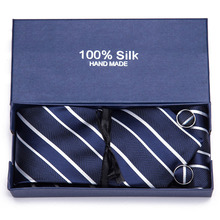 Free shipping Fashion Dsign  100% Silk Tie  Woven Neck Tie For Men Party Business Wedding Free Shipping Gift box packing