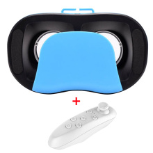 New Version Mini VR BOX 2.0 Virtual Reality 3D Glasses VR Case + Smart Bluetooth Wireless Remote Control Gamepad Mini Style