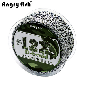 12 Strands Braided Carp Fishing Line(China)