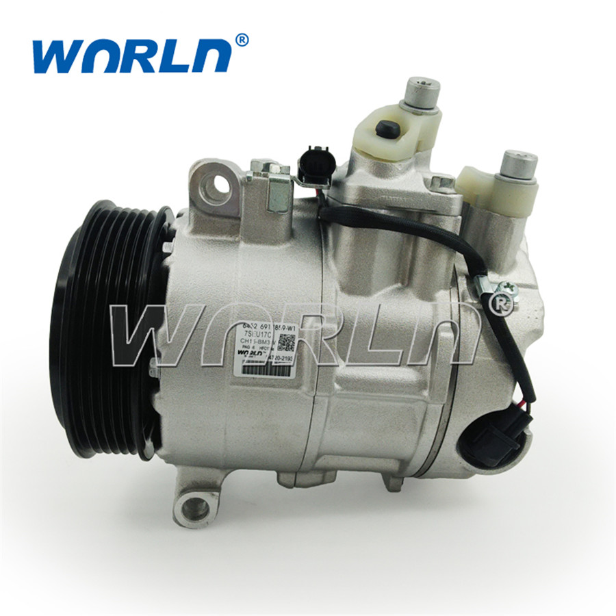 medium resolution of auto a c compressor for nissan sunny march 2008 2010 juke 2010 1 5 1 6 926001ka1b