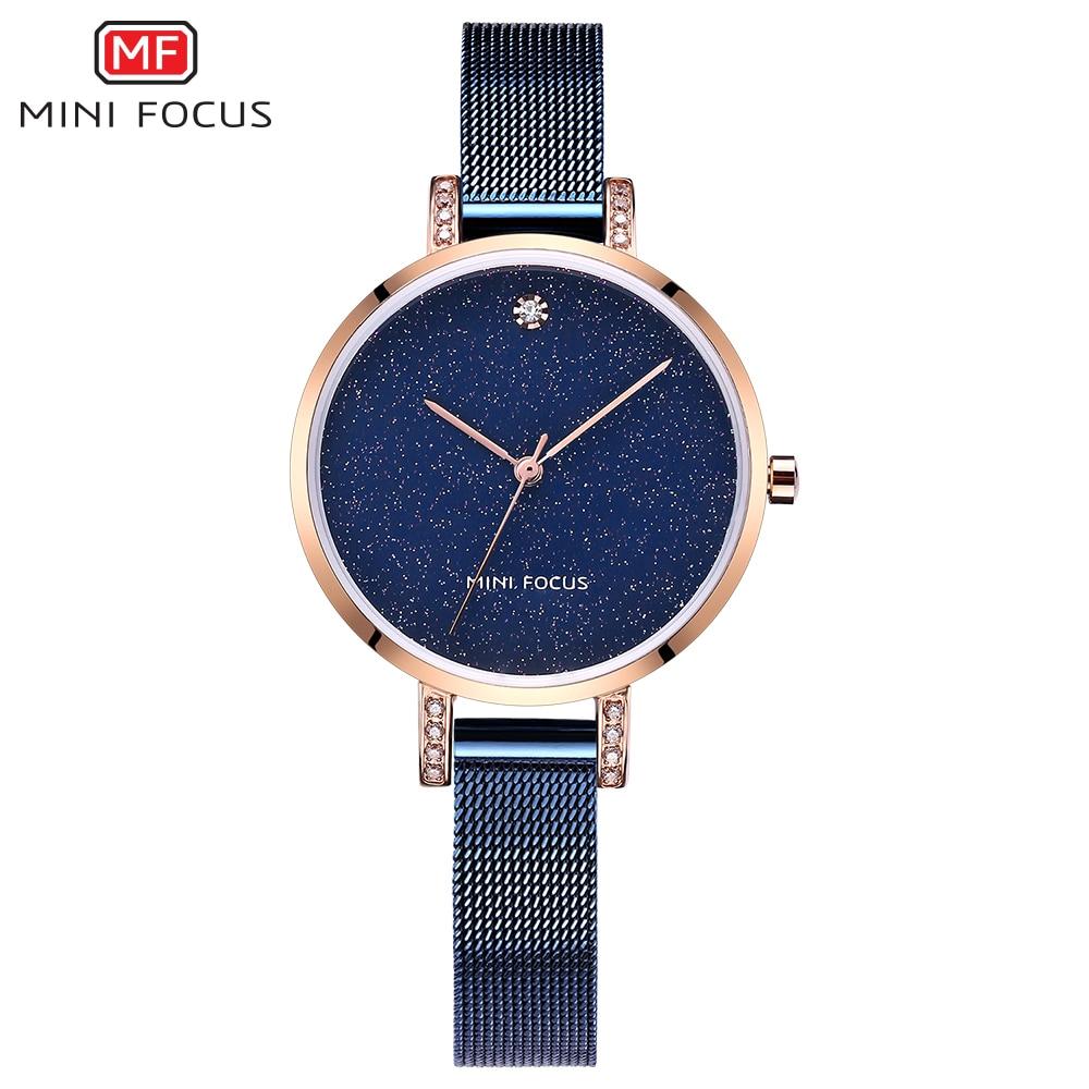 MINI FOCUS Mode Quartz Horloge Vrouwen Horloges Dames Meisjes - Dameshorloges