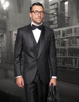 2018 New Arrival Black Mens Suit for wedding/business Jacket+Pants+Tie+Vest mens Tuxedos Best men suits men jacket and pants
