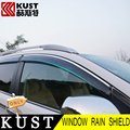 Kust todos os abrigos de janela do carro chuva escudo capa para honda para crv 2012 A 2015 ABS Janela Pala de sol Para CRV 2016 2017 Acessórios