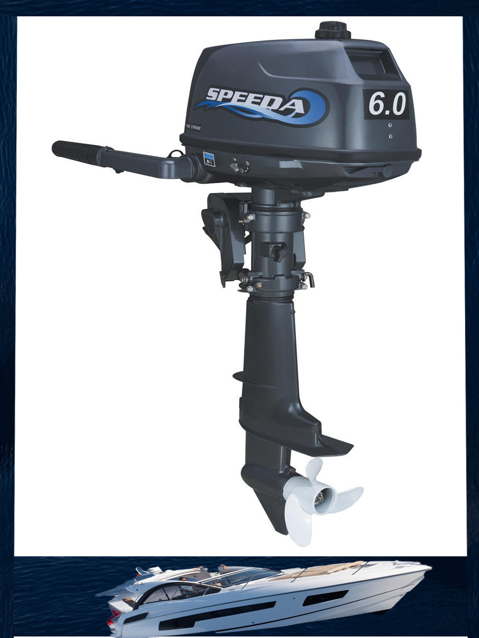best price and hot selling water cooled 2 stroke 6hp