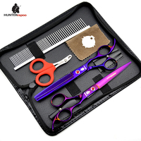 20 OFF 7 Inch Stainless Steel Pet Gromming Shears Dog Hair Cutting Scissors Kit DIY Home