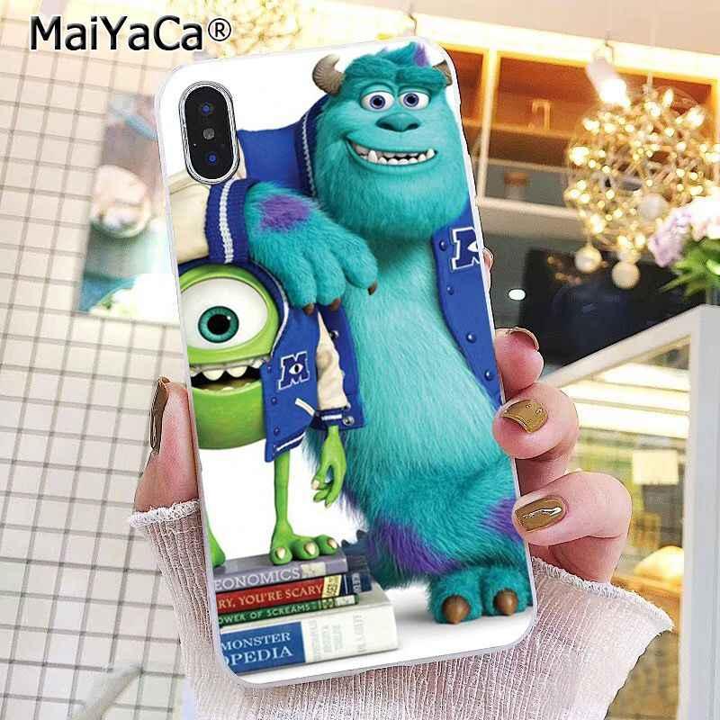 MaiYaCa Monstros University Sulley Tiger Caso de Telefone Para O iphone 11 Pro 11Pro MAX 5 5Sx 6 7 7plus 8 8 mais X XS MAX XR Capa