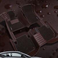 5D custom made car floor mats for Kia Sorento Sportage Optima K5 Forte Cerato K3 Cadenza waterproof leather carpet liners