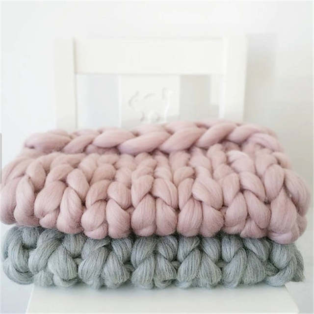 Online Shop Low Price Wholesale Super Chunky Merino Wool Yarn For