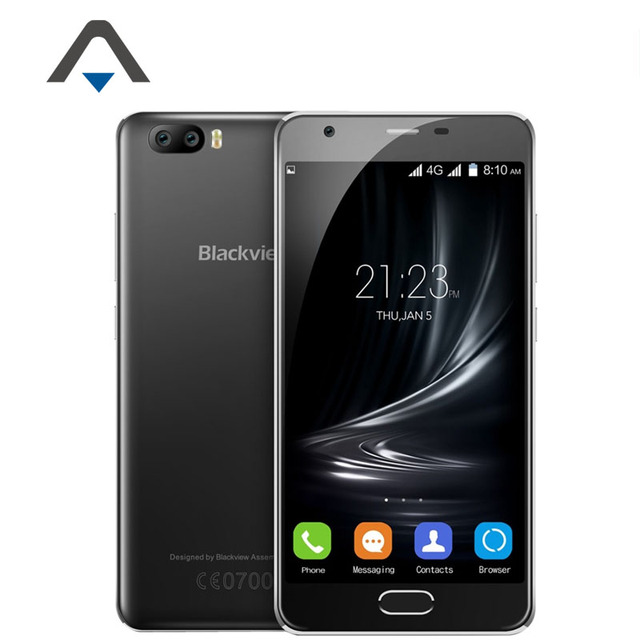 Original Blackview A9 Pro Dual Back lens Mobile Phone Android 7.0 2GB RAM 16GB ROM MTK6737 8MP Type-C 4G LTE Fingerprint ID