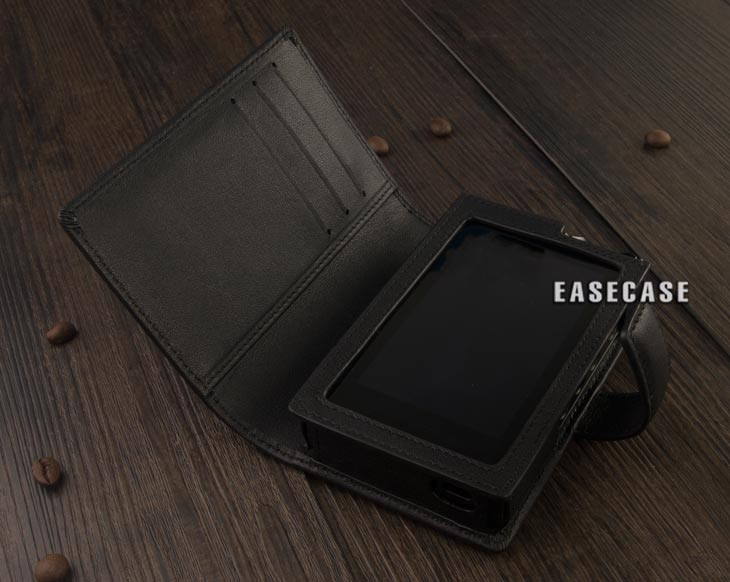 Image 5 - E4 Custom Made Genuine Leather case for LOTOO Paw Gold Touch-in Phone Pouches from Cellphones & Telecommunications