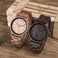 DODO DEER Men Walnut Ultra Thin Watches Clock Men Classic Quartz Watches Simple Custom Wood Men's Wrist Watch Accept Logo C10