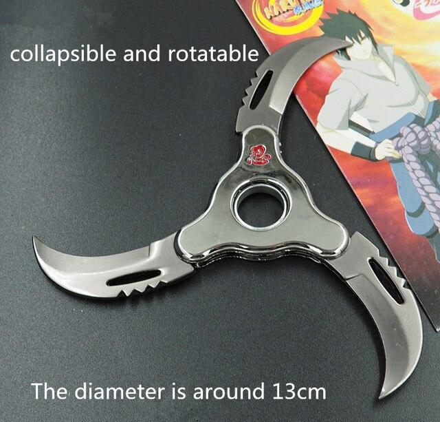 Naruto Shurikens Darts Zinc Spinner Toy