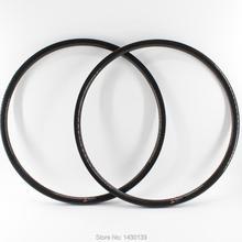 Jantes tubeless en fibre de carbone pour pneus de vtt VTT 3K UD 12K, 2 pièces, 29 pouces, largeur 30mm, livraison gratuite
